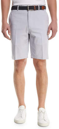 Peter Millar Crown Sport Salem Fine-Pinstripe Performance Shorts