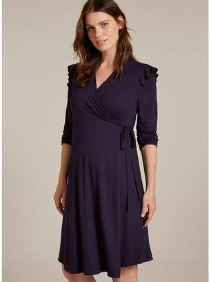 Isabella Oliver Alma Maternity Dress-Darkest Navy