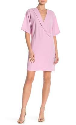 Bobeau Faux Wrap Dress