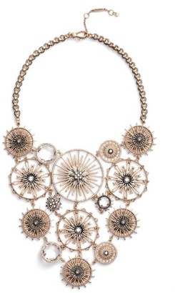 Women's Jenny Packham Drama Bib Necklace $250 thestylecure.com