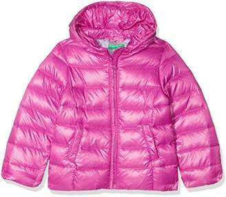 Benetton Girl's Down Jacket Long Sleeve Jacket,(Herstellergröße: 2Y)