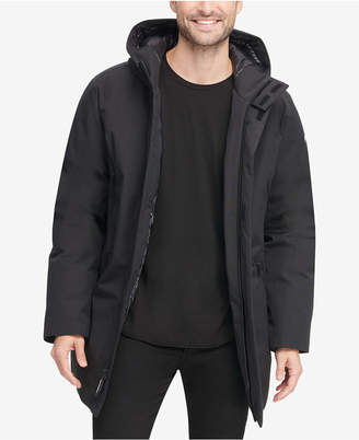 DKNY Men's Full-Length Hooded Parka