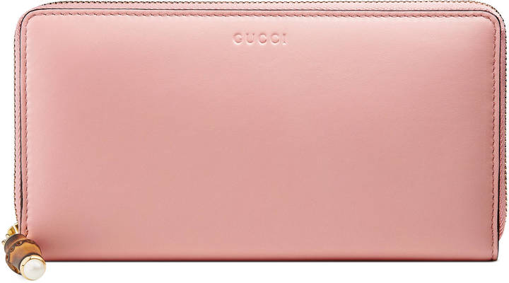 Gucci Gucci Nymphaea zip around wallet