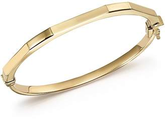 Bloomingdale's 14K Yellow Gold Faceted Bangle - 100% Exclusive