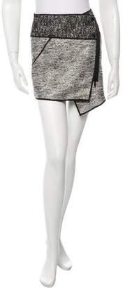 Rachel Zoe Bouclé Mini Skirt