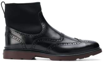 Hogan ankle brogue boots