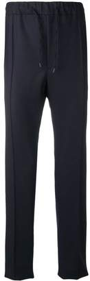 Fendi high rise tapered trousers