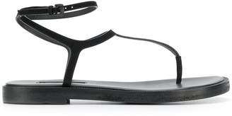 Ann Demeulemeester buckle T-bar sandals