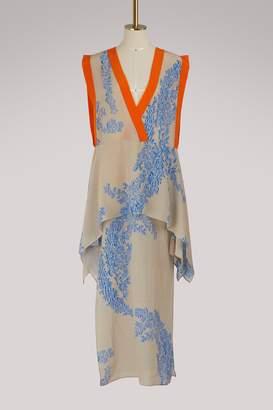 Fendi Long sleeveless dress
