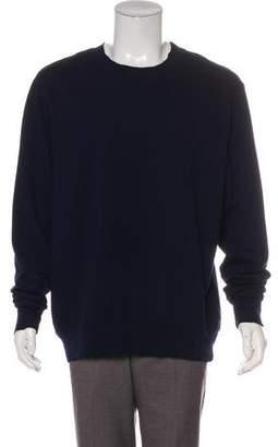 Cotton Citizen Distressed Crew Neck Sweatshirt