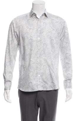 Etro Paisley Print Button-Up Shirt