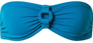 Eres Studio Frame Bandeau Bikini Top - Cobalt blue