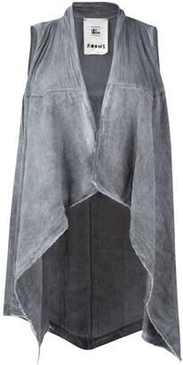 Lost & Found Rooms asymmetric hem waistcoat