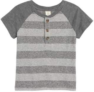 Tucker + Tate Raglan Stripe Henley Shirt