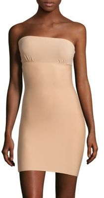 Commando Commando Two-Faced Tech Strapless Slip Dress