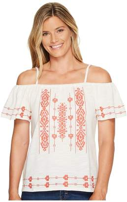 Sanctuary Magnolia Top Women's Short Sleeve Pullover