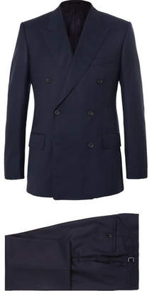 Kingsman Harry's Navy Super 120s Wool And Cashmere-Blend Suit