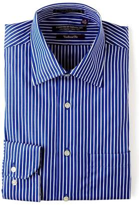 Forsyth Wide Stripe Canada Tailored Fit Dress Shirt