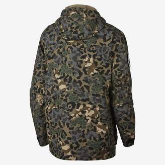 Converse Printed Cotton Utility Mens Jacket