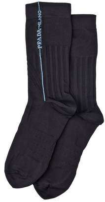 Prada Technical Nylon Socks