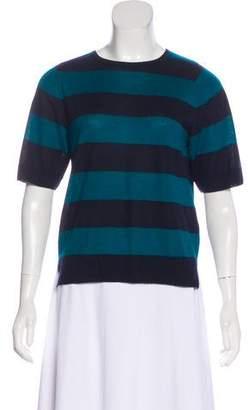 Dries Van Noten Cashmere Striped Top