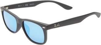 Ray-Ban Junior 50mm Wayfarer Mirrored Sunglasses