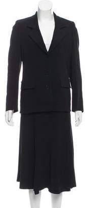 Sonia Rykiel Structured Skirt Suit