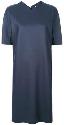 Jil Sander v-neck shift dress