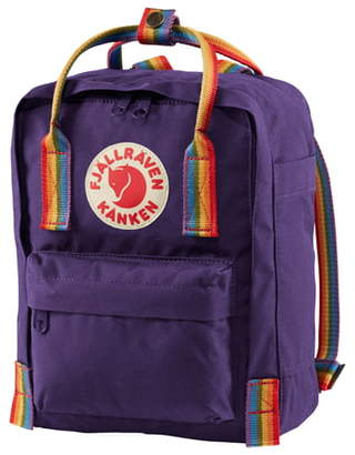 Fjallraven Mini Kanken Rainbow Water Resistant 13-Inch Laptop Backpack