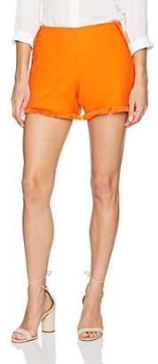 Trina Turk Women's Kleo Stretch Cotton Slub Short
