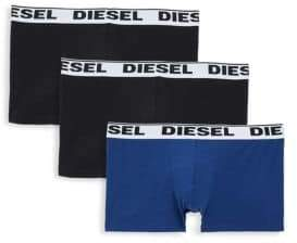 Diesel Three-Pack UMBX-Kory Boxer Briefs