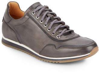Saks Fifth Avenue By Magnanni Leather Sneaker