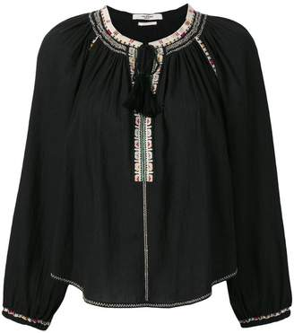 Etoile Isabel Marant Rina embroidered blouse
