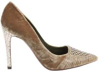 Ralph Lauren Velvet heels