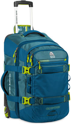 "GRANITE GEAR Cross-Trek 22"" Wheeled Carry-On with Removable Backpack"