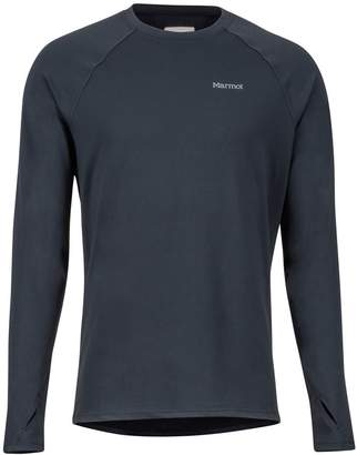 Marmot Midweight Harrier LS Crew Neck Shirt