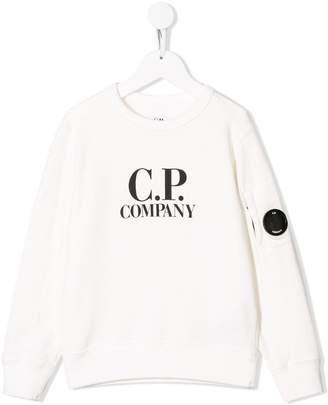 C.P. Company Kids logo sweatshirt