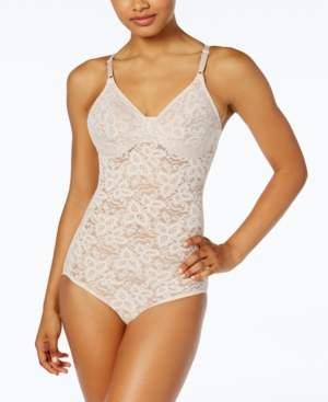 Bali Women's Firm Tummy-Control Lace N Smooth Body Shaper 8L10