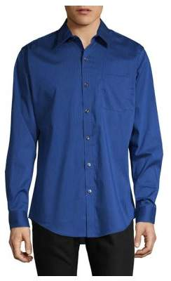 Van Heusen Striped Woven Button-Down Shirt