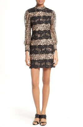 Women's Tracy Reese Lace Stripe Sheath Dress $348 thestylecure.com