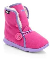 Native Little Girl's& Girl's Luna Faux-Shearling Boots