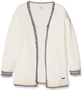 Pepe Jeans Girl's Favima Jr Cardigan,(Manufacturer Size: 14)