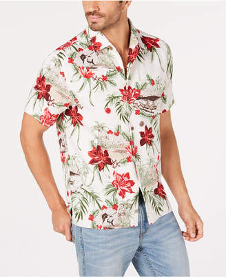 Tommy Bahama Men's Honolulu Holiday Silk Shirt