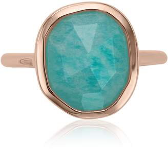 Monica Vinader Siren Medium Semiprecious Stone Stacking Ring
