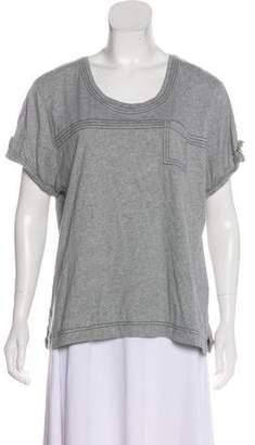 Burberry Short Sleeve Knit Top