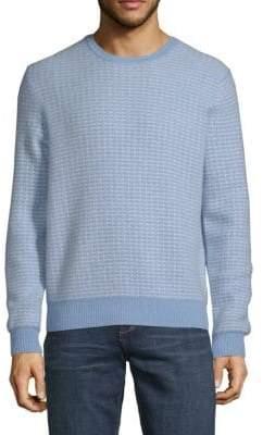 Crewneck Textuerd Cashmere Sweater