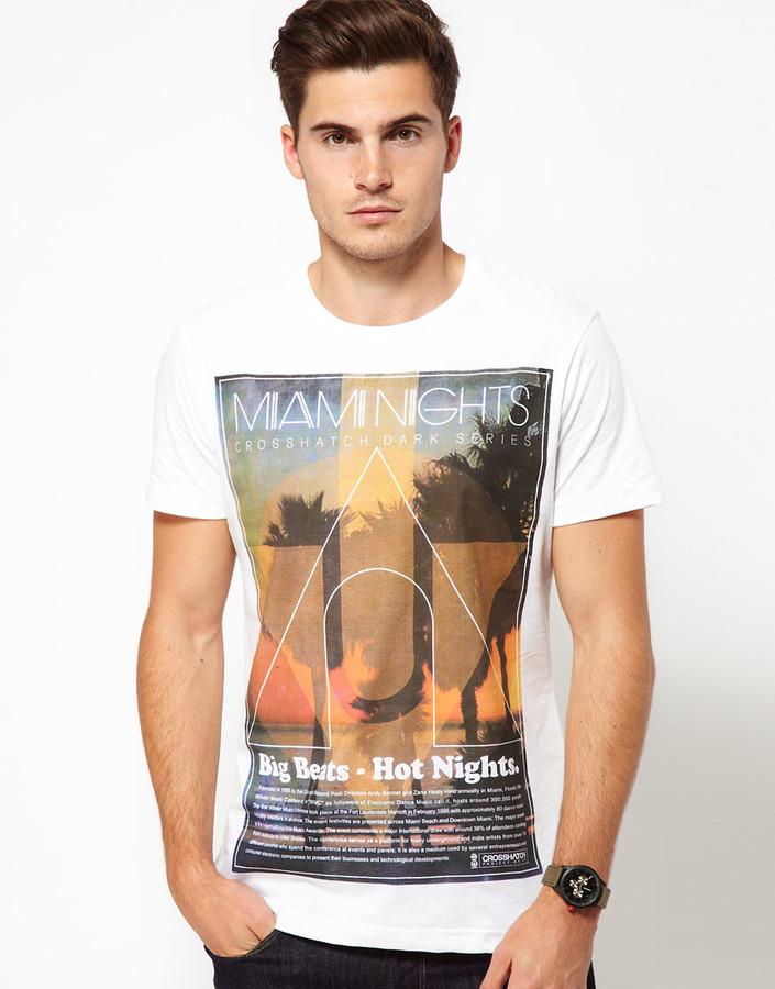 Crosshatch Miami Nights T-Shirt