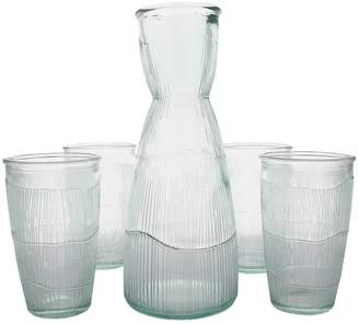 French Home Birch Decanter & Tumblers Set (5 PC)