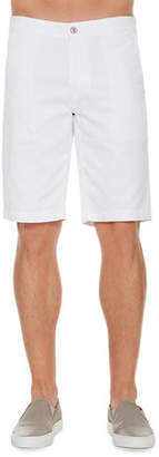 AG Jeans Griffin Flat-Front Shorts