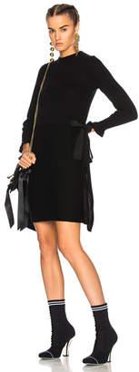 Fendi Long Sleeve Sweater Dress